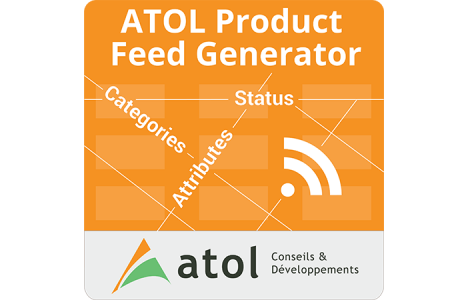 Atol Product Feed Generator - logo pour Magento Connect