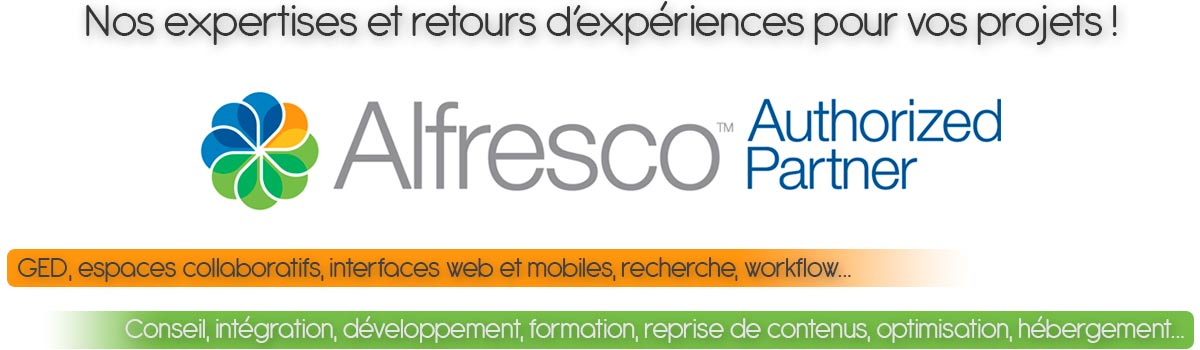 ATOL Conseils & Développements authorized partner Alfresco